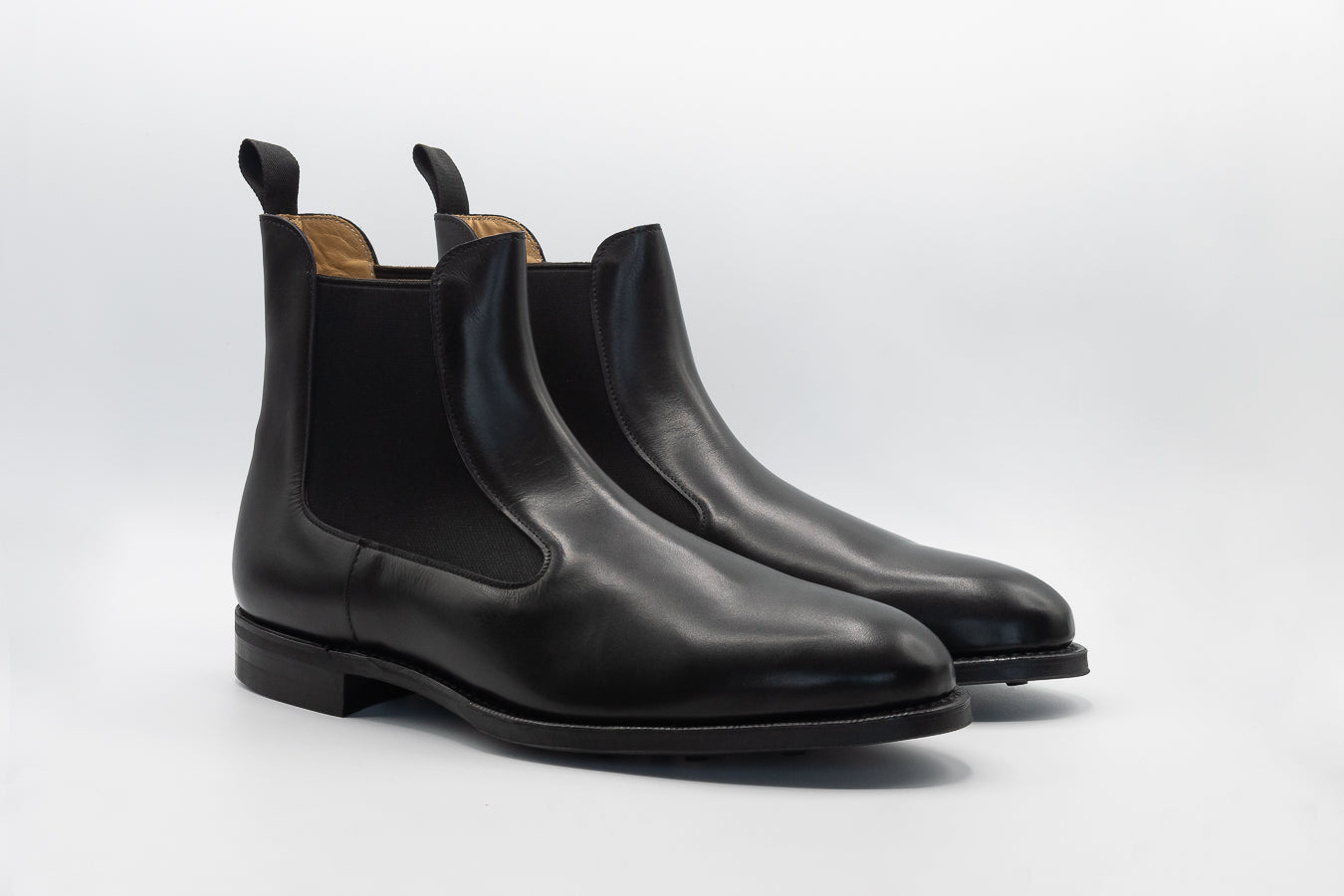 Chelsea Boot // Boxcalf // Schwarz // Dainite Sohle