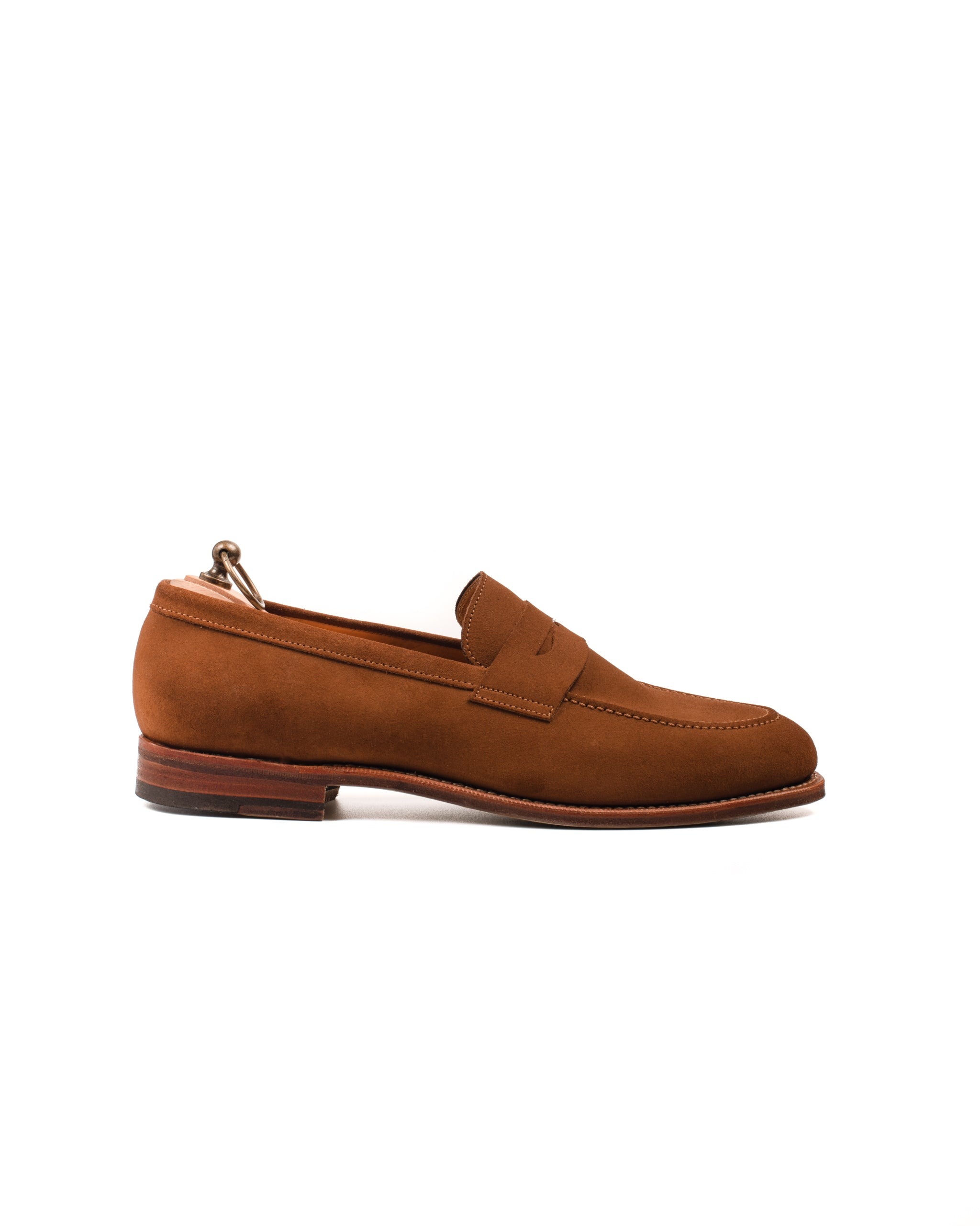 Penny Loafer // English Suede // Snuff // Rendenbach Ledersohle