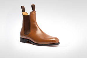Chelsea Boot // Boxcalf // Blond // Ledersohle