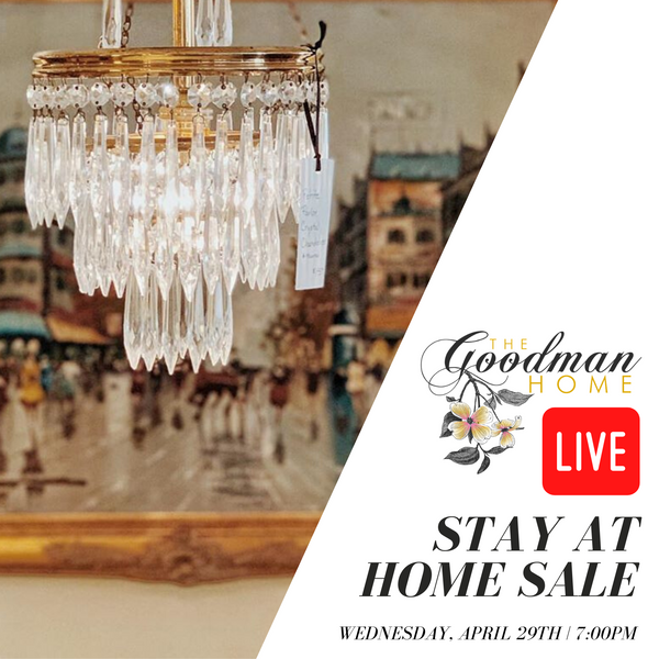Instagram & Facebook LIVE SALE - The Goodman Home
