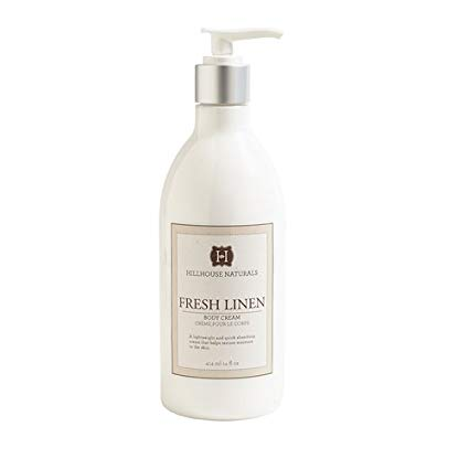 Hillhouse Naturals Fresh Linen Body Cream