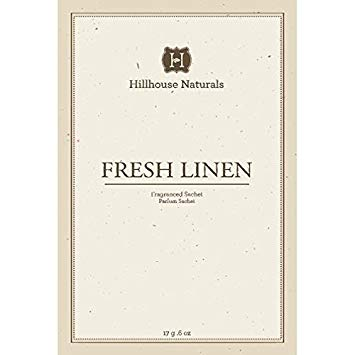 Hillhouse Naturals Fresh Linen Fragranced Sachet