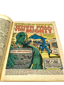 "Marvel Comics Group Fantastic Four #70 ""When Fall the Mighty!"""