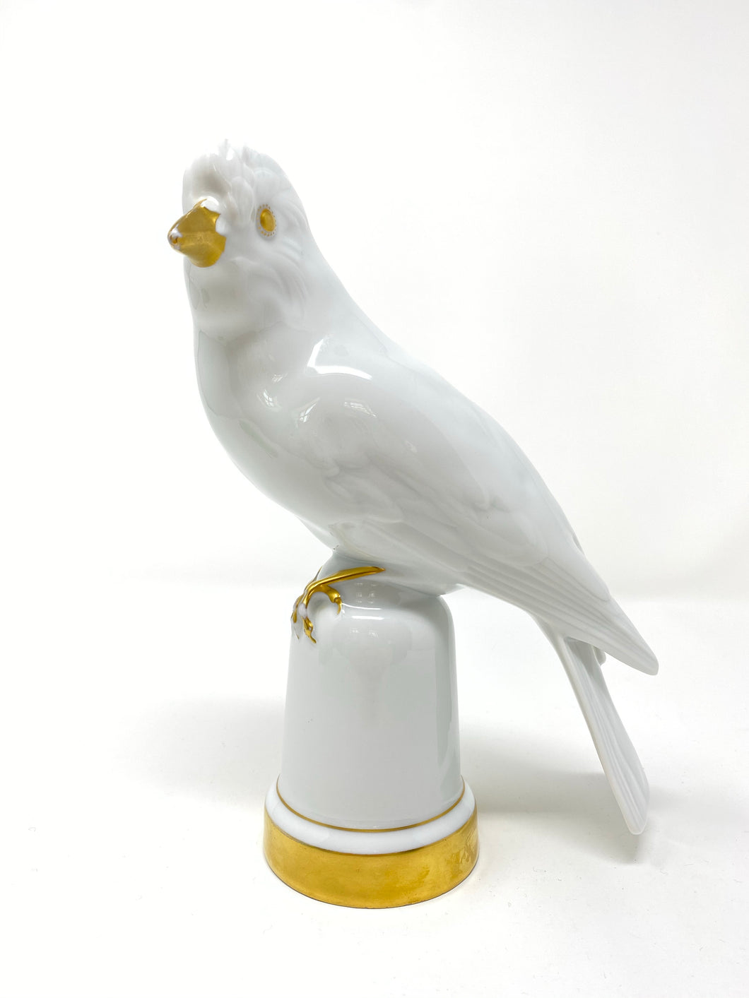 Antique Lorenze Hutschenreuther White Bird Figurine