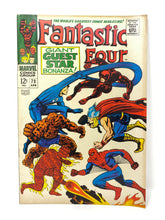 Load image into Gallery viewer, Marvel Comics Group Fantastic Four #73 Giant Guest Star Bonanza!