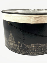 Load image into Gallery viewer, Vintage Woodward & Lothrop Hat Box with Amy New York Designer Hat