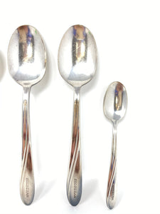The Shoreham Hotel Old Washington, D.C. 7pc Silverplate Set of Spoons
