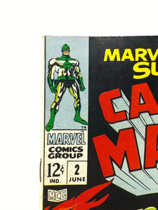 "Marvel Comics Group Captain Marvel #2 ""The Spaceman & the Super Skrull"""