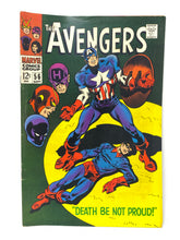 Load image into Gallery viewer, Marvel Comics Group The Avengers #56 w/ Captain America