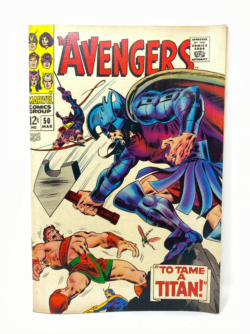 Marvel Comics Group The Avengers #50 w/ Hawkeye