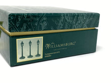 Load image into Gallery viewer, Williamsburg Collectibles Lang & Wise Lampposts (Set of 3) 0506004