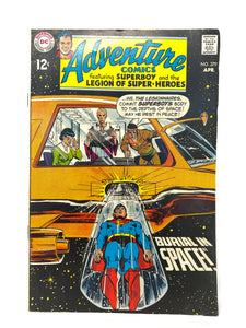 DC National Adventure Comics Superman #379 w/ Suberboy & More - 1 Owner