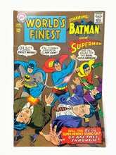 Load image into Gallery viewer, DC National Comics World's Finest Superman #168 w/ Batman - 1 Owner