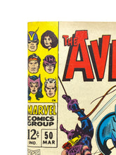 Load image into Gallery viewer, Marvel Comics Group The Avengers #50 w/ Hawkeye