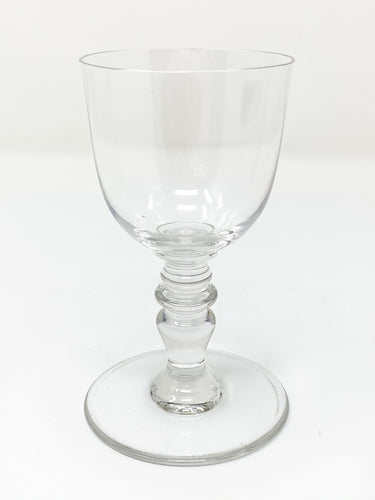 "Baccarat Signed Provence French Crystal 4 3/8"" Sherry Wine Glass"