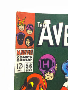 Marvel Comics Group The Avengers #56 w/ Captain America