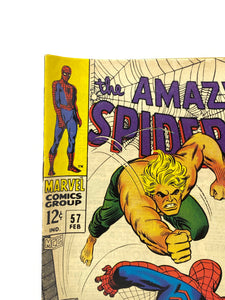 "Marvel Comics Group The Amazing Spider-Man #57 ""The Power of Ka-Zar"""