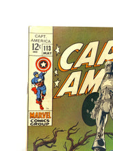 Load image into Gallery viewer, Marvel Comics Group Captain America #113 In Memoriam 1969