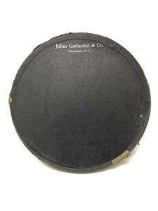 Julius Garfinckel & Co. Washington D.C. Velvet Hat & Box