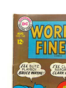 DC National Comics World's Finest Superman #168 w/ Batman - 1 Owner