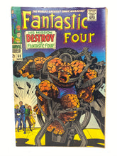 Load image into Gallery viewer, Marvel Comics Group Fantastic Four #68 w/ Mighty Marvel's Mystery Villain