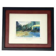 Load image into Gallery viewer, Set of 3 Matted & Framed Mike Simpson Original Watercolors