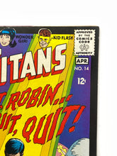 Load image into Gallery viewer, DC National Comics Superman #14 Teen Titans w/ Robin & Kid Flash - 1 Owner