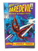 "Load image into Gallery viewer, Marvel Comics Group Daredevil #39 ""The Unholy Three!"""