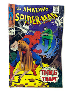 "Marvel Comics Group The Amazing Spider-Man #54 ""The Tentacles & the Trap"""