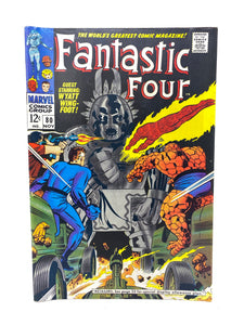 Marvel Comics Group Fantastic Four #80 w/ Wyatt Wing Foot