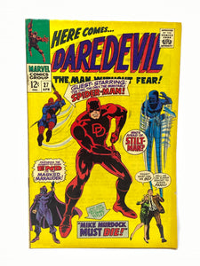 Marvel Comics Group Daredevil #27 w/ Spider-Man