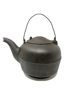 J. Kern Jr. Baltimore, MD RARE #7:8 Antique Cast Iron Tea Kettle