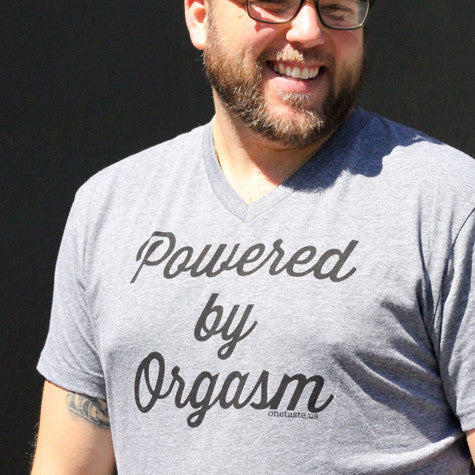 T-Shirt: Powered by Orgasm
