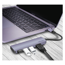 Load image into Gallery viewer, USB C HDMI 4K Hub with 3 USB 3.0 ports