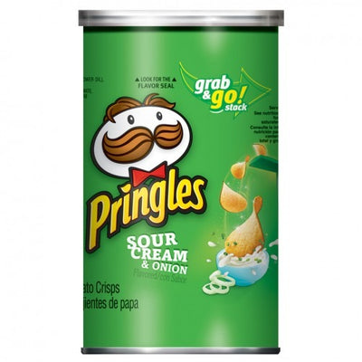 PRINGLES SOUR CREAM & ONION GRAB & GO - Jerry America