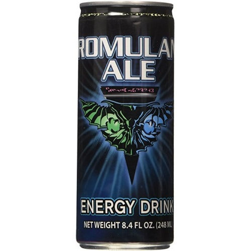 STAR TREK ROMULAN ALE ENERGY DRINK - Jerry America