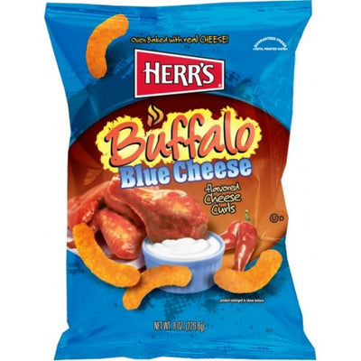 HERR'S BUFFALO BLUE CHEESE CURLS 198 gr - Jerry America