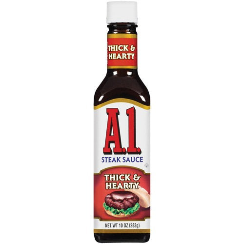 A1 STEAK SAUCE THICK & HEARTY - Jerry America