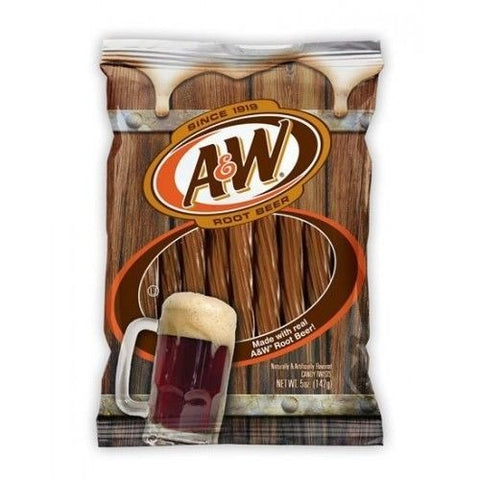 A&W ROOT BEER JUICY TWISTS - Jerry America