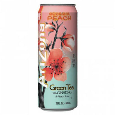 ARIZONA GREEN TEA CON JINSENG & PEACH - Jerry America