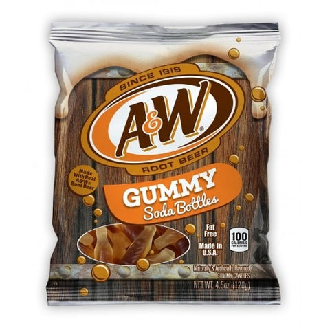 A&W ROOT BEER GUMMY SODA BOTTLES - Jerry America