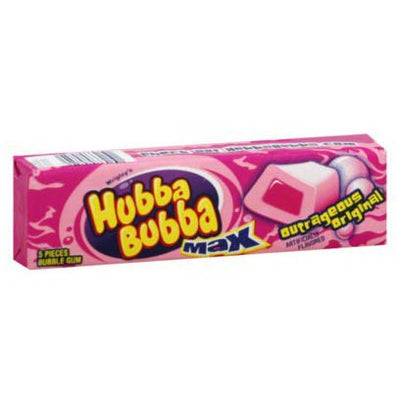 HUBBA BUBBA MAX OUTRAGEOUS ORIGINAL GUM - Jerry America