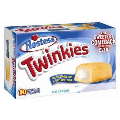 HOSTESS TWINKIES BOX OF 10 - Jerry America