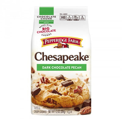 PEPPERIDGE FARM COOKIES CHESAPEAKE DARK CHOCOLATE PECAN - Jerry America
