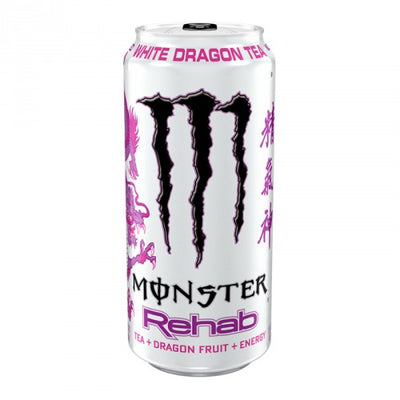 MONSTER REHAB WHITE DRAGON TEA - Jerry America