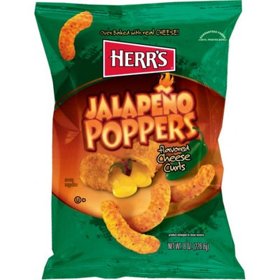 HERR'S JALAPENO POPPERS POTATO CHIPS 29 gr - Jerry America