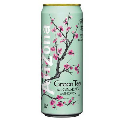 ARIZONA GREEN TEA CON GINSENG E MIELE - Jerry America