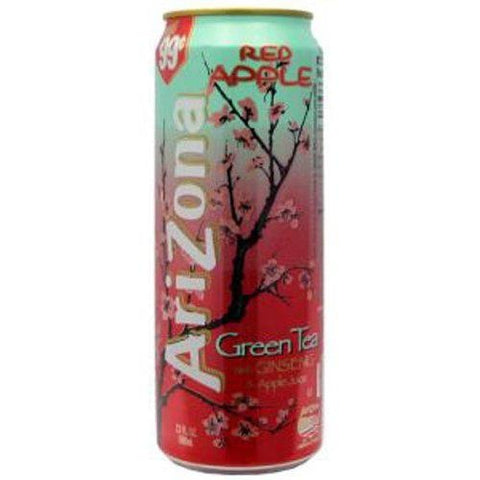 ARIZONA RED APPLE GREEN TEA - Jerry America