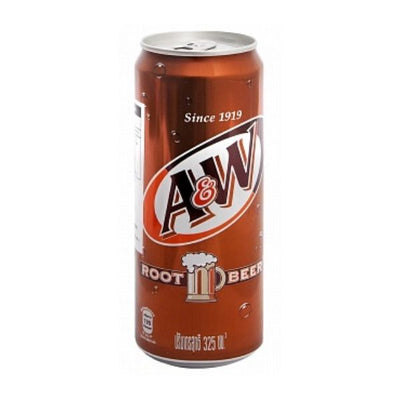 A&W ROOT BEER 325 ml - Jerry America