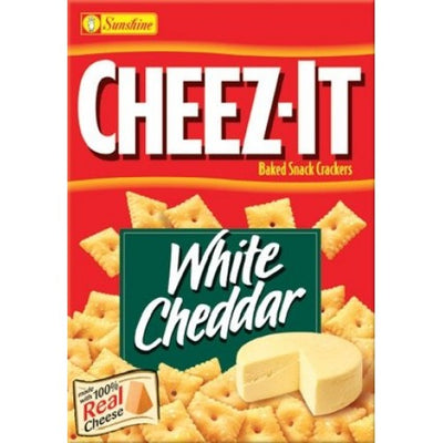 CHEEZ IT WHITE CHEDDAR CRACKERS 198 gr - Jerry America
